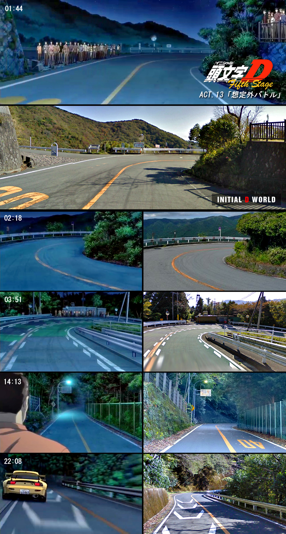 Initial D World Discussion Board Forums Fifth Stage Anime Vs Real Life